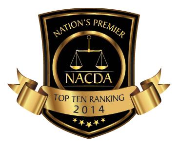 nacda top 10 ranking 2014