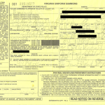 The yellow copy of a Virginia speeding ticket is issued to any motorist who is pulled over and issued a speeding ticket in Lawrenceville VA