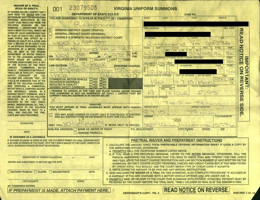 Speeding Ticket Lawyer >> Richmond VA Reckless Driving Lawyer Riley & Wells