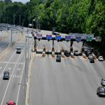 The Richmond Toll Plaza is located on Route 76 also referred to as the Powhite Parkway.