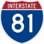 The Speed Limit on Interstate 81 in Bristol VA is Strictly Enforced