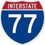 Reckless Driving Speeding Ticket on Interstate 77 in Virginia