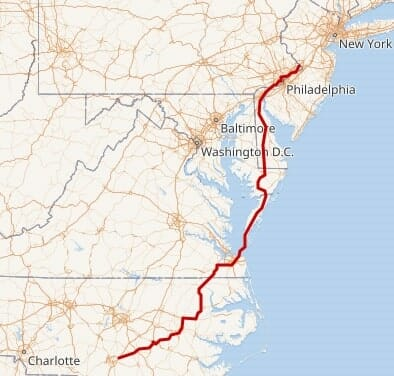 U.S. Route 13 Speed Trap in Northampton County VA